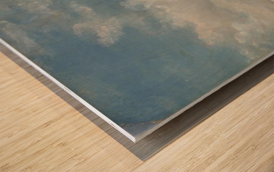 Clouds 1822 Wood print