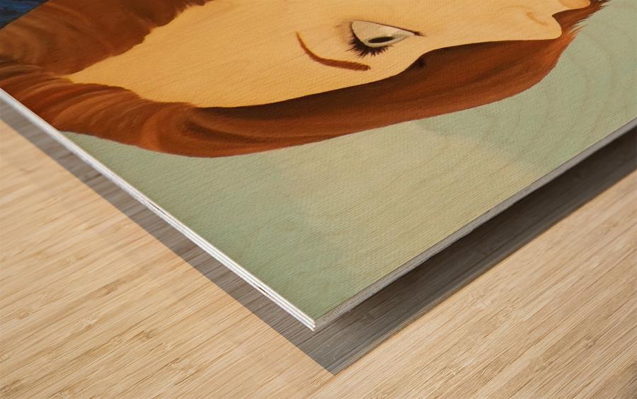 Euhoria Wood print