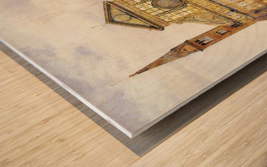 The main square Wood print