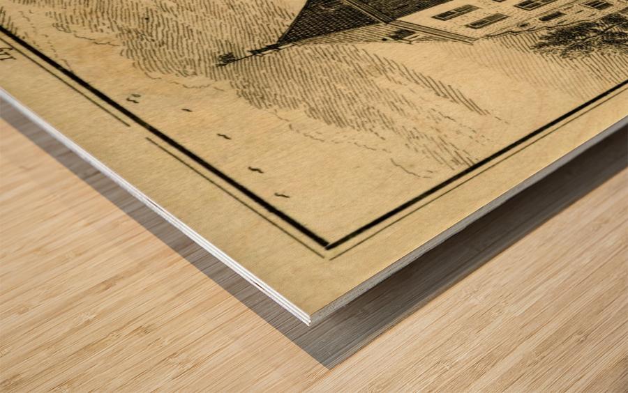 Huis Hinderstein Wood print