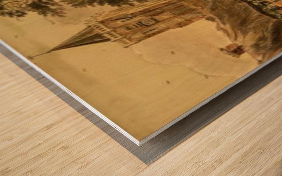 View of Sambeek Wood print