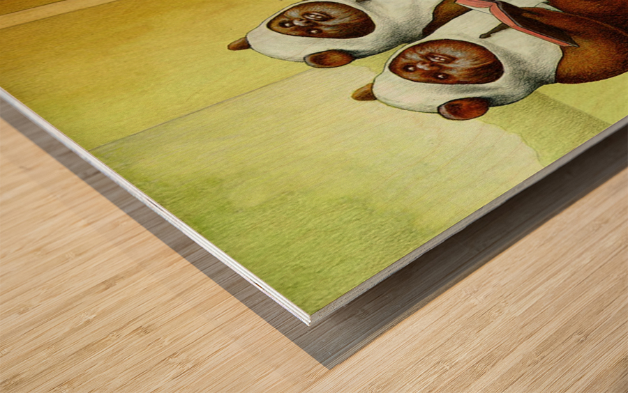 c3po Wood print