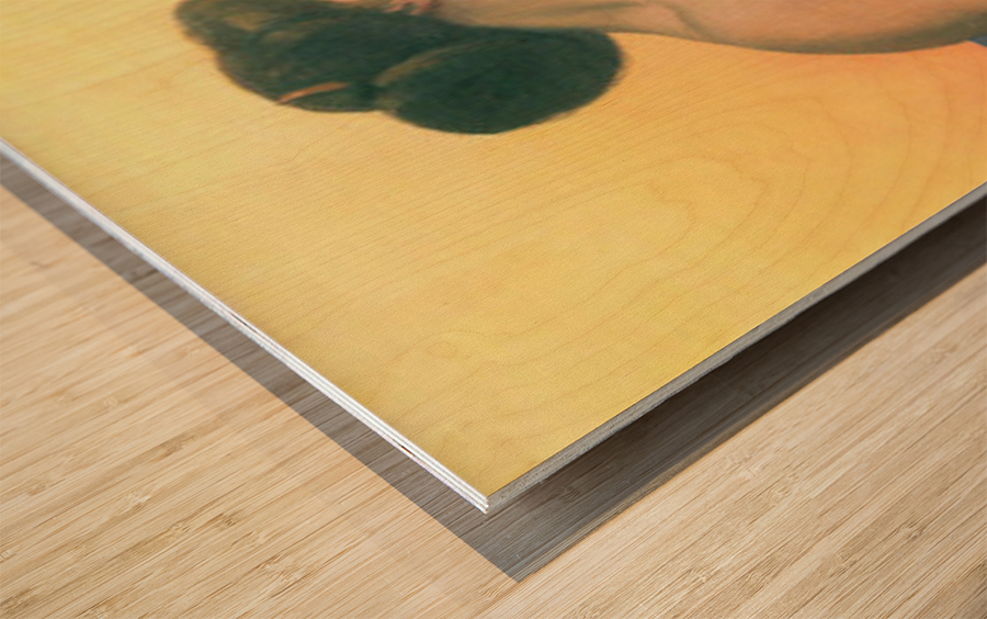 Bathing 2 by Felix Vallotton Wood print