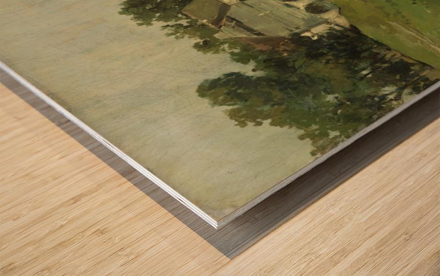 Zomerdag Wood print