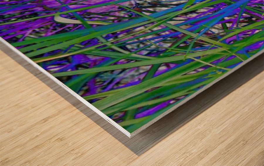 blueeweeds Wood print