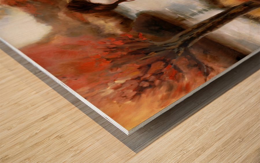 FoxFairy Wood print