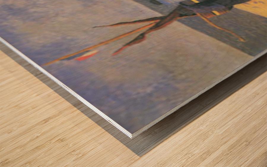 July in Etretat by Felix Vallotton Wood print