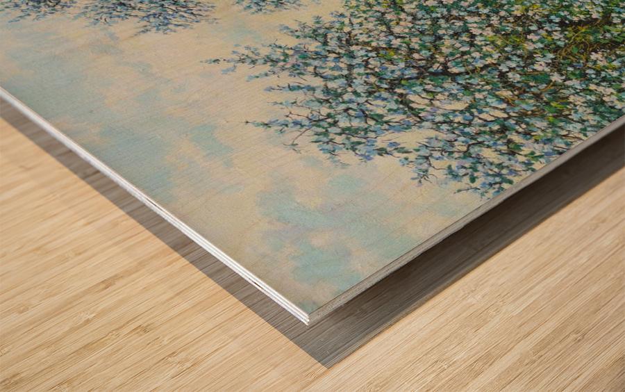 Belakvet Wood print
