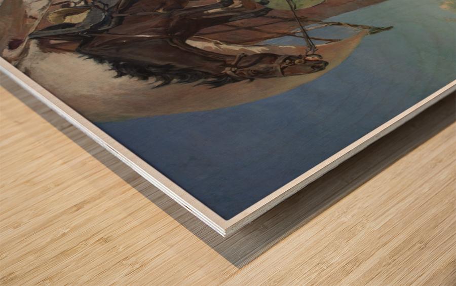 Don Qujiote Wood print