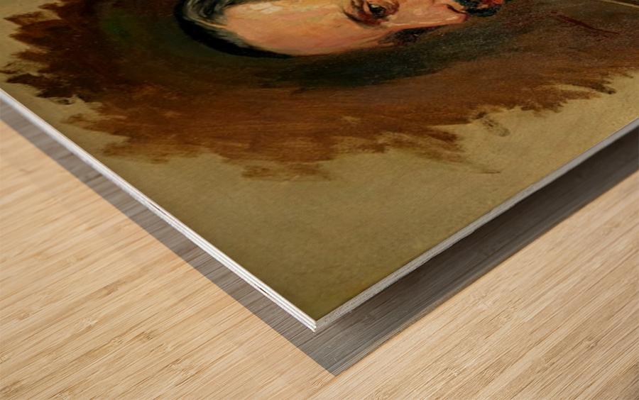 Jose Moreno Carbonero Selfportrait Wood print