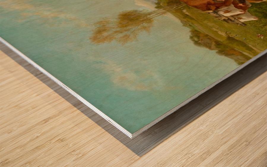 Schweizer Kunst Wood print
