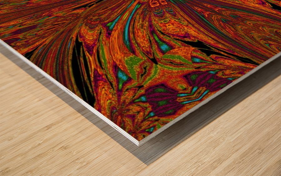 The Goddess PSYKHE 2 Wood print