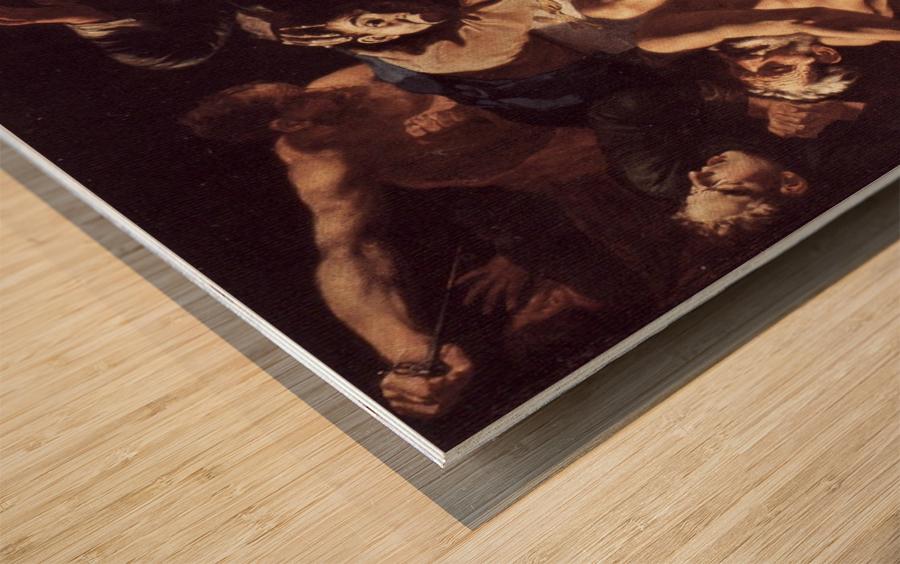 The death of Aaron Wood print