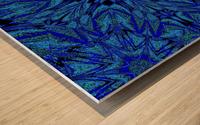 Electric Blue 1 Wood print