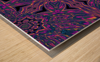 Psychedelic Jasmine 3 Wood print