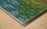 Summer's Edge Wood print