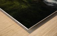 Gorge 1. Wood print