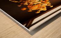 The Garlics Wood print