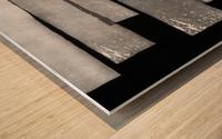 in squares Wood print