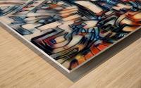 compuman Wood print