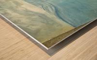 under water Wood print