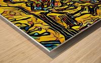 afs Wood print