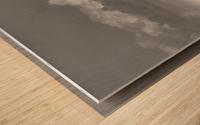 Cloud blower Wood print