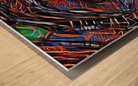 oruzo Wood print