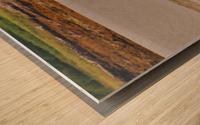 Loch trek Wood print