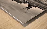 Wind houses Wood print