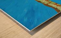 9_009 galvanizing_beauty R Wood print