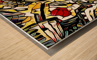 colifor Wood print