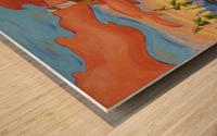 Haida Totem Wood print