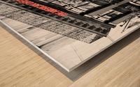The American Dream Wood print
