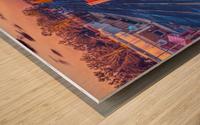 Lonoke, AR | Red Oak  Wood print