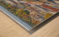 Lawrenceburg, TN | The Old Square Wood print