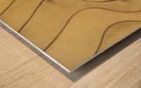 Lonoke, AR | Rice Levees  Wood print
