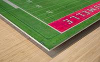 Maumelle, AR | Hornets Football Field Wood print