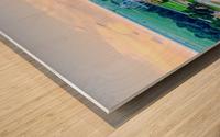 Carlisle, AR | Peeking over Rivianna  Wood print
