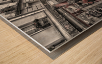 Streets of Paris - Montmartre Wood print