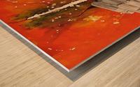 La Brèche Wood print