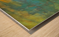 Sunrise by Monet Wood print