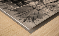 NEW YORK CITY Urban Collage No. 2 Wood print