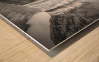 ICELAND Skogafoss Wood print