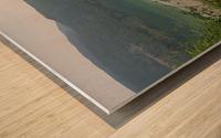 Crystal Clear White Lake Wood print