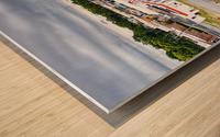 Lonoke AR | Headed W on 70 Wood print