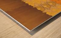 Landscape  0627 Wood print