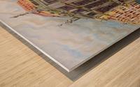 memory of Saint Peterburg, Nevskij Prospekt Wood print