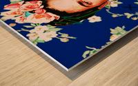 Frida X Wood print