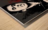 Say X Wood print